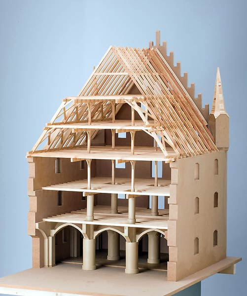 The Roofs of Munich – Models of Historic Architectural